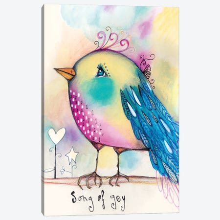Song Bird 3-Piece Canvas #LPR187} by Tamara Laporte Canvas Artwork
