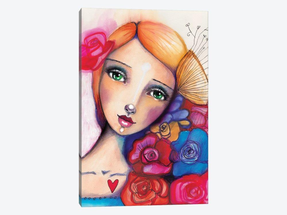 Spanish Beauty by Tamara Laporte 1-piece Canvas Art