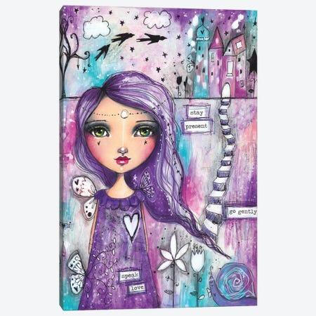 Speak Love Canvas Print #LPR191} by Tamara Laporte Canvas Art