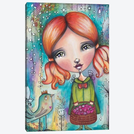 Spring Beginnings Canvas Print #LPR192} by Tamara Laporte Canvas Artwork
