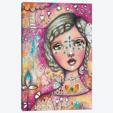 Star Girl II Canvas Print #LPR194} by Tamara Laporte Canvas Print