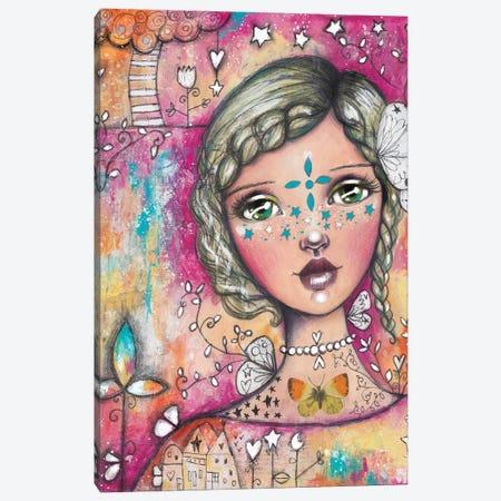 Star Girl II Canvas Print #LPR194} by Tamara Laporte Canvas Print