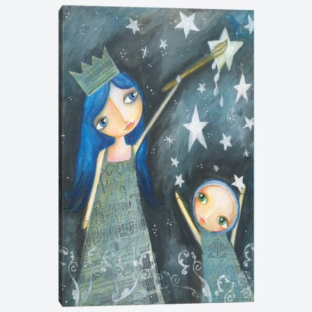 Star Painter Canvas Print #LPR196} by Tamara Laporte Canvas Print