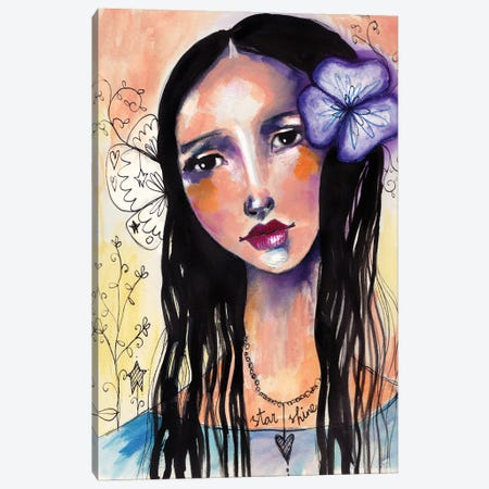 Starshine Canvas Print #LPR198} by Tamara Laporte Canvas Artwork