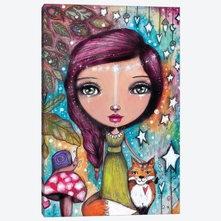 Autumn Fairy II Canvas Print #LPR19} by Tamara Laporte Canvas Wall Art