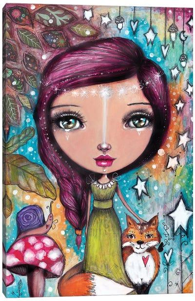 Autumn Fairy II Canvas Art Print