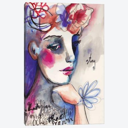 Stay Canvas Print #LPR200} by Tamara Laporte Canvas Artwork