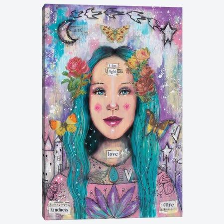 Super You Canvas Print #LPR205} by Tamara Laporte Art Print