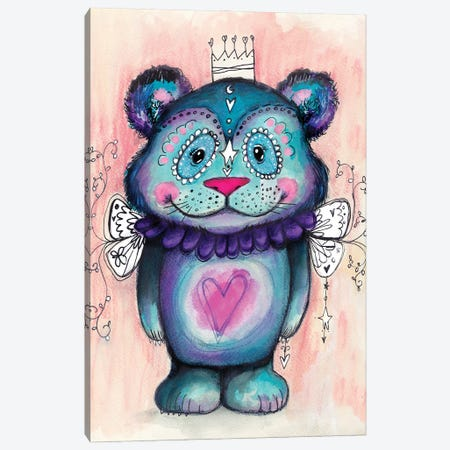 Sweet Bear II Canvas Print #LPR207} by Tamara Laporte Canvas Print
