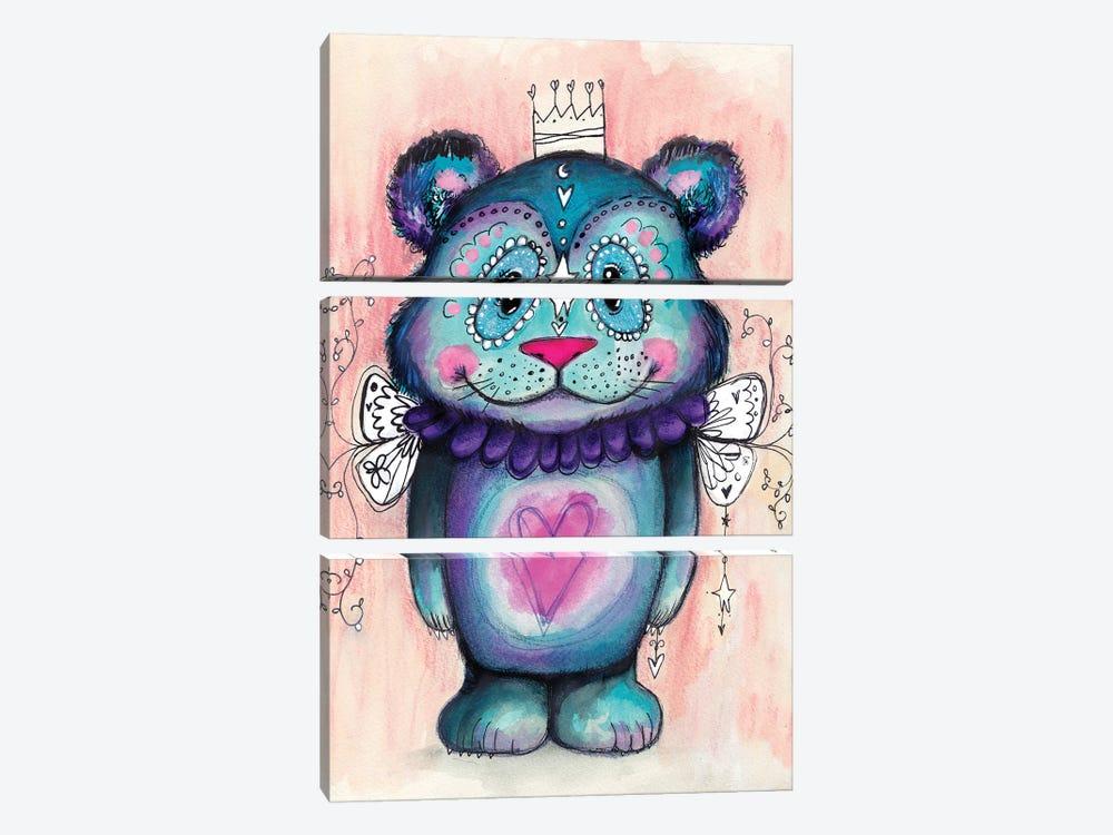 Sweet Bear II by Tamara Laporte 3-piece Canvas Wall Art