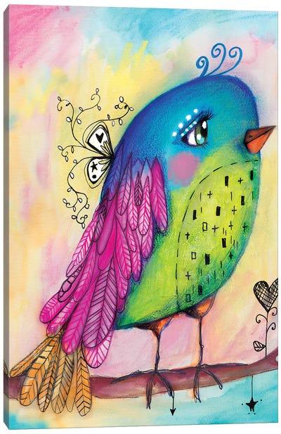 Sweet Bird Canvas Art Print