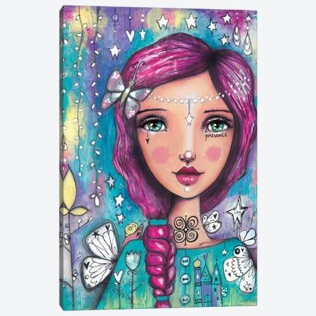 Tending To Dreams Canvas Print #LPR214} by Tamara Laporte Canvas Wall Art