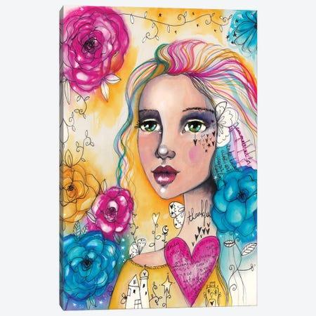 Thankful Canvas Print #LPR215} by Tamara Laporte Canvas Artwork