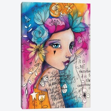 The Everything Canvas Print #LPR217} by Tamara Laporte Canvas Artwork