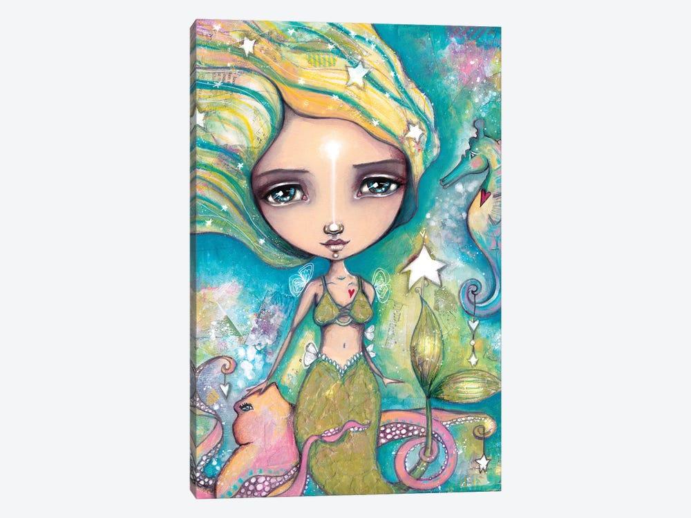 The Little Empowered Mermaid by Tamara Laporte 1-piece Canvas Print
