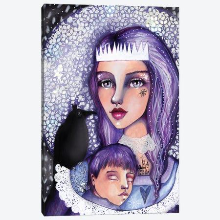 The Snow Queen Canvas Print #LPR221} by Tamara Laporte Canvas Wall Art