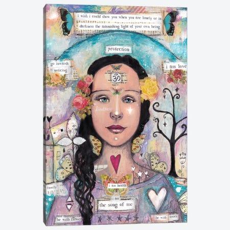 The Song Of Me Canvas Print #LPR222} by Tamara Laporte Canvas Art