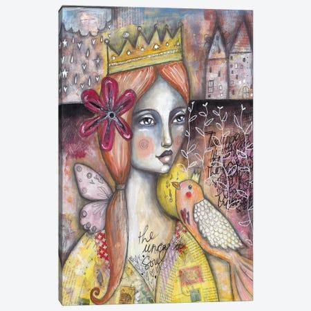 The Uncaged Soul Canvas Print #LPR223} by Tamara Laporte Canvas Art