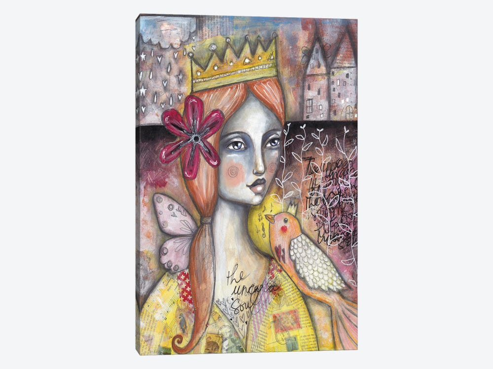 The Uncaged Soul by Tamara Laporte 1-piece Canvas Wall Art