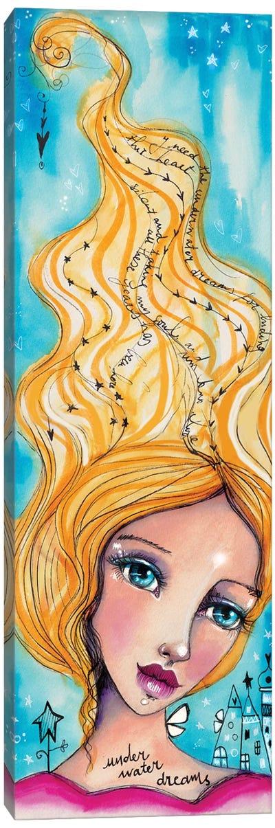 Underwater Pearls Canvas Art Print