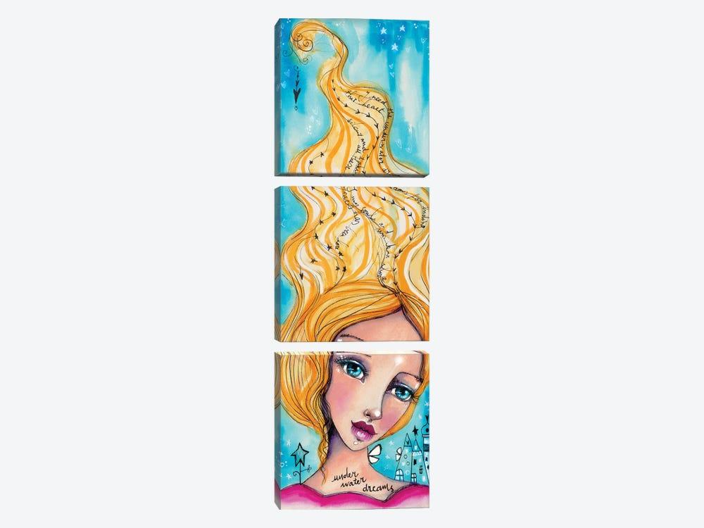 Underwater Pearls by Tamara Laporte 3-piece Canvas Art Print