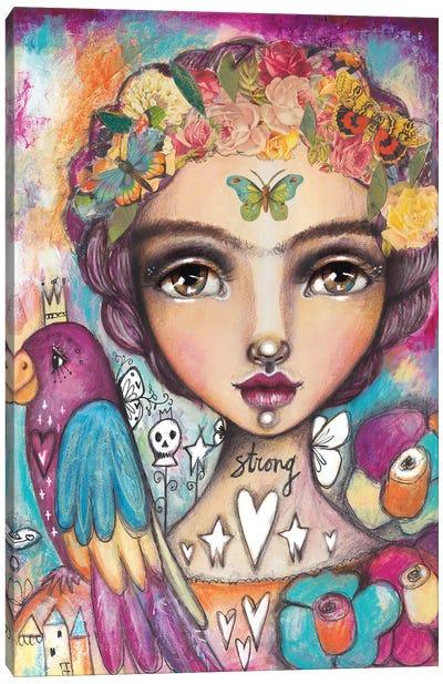 Wild Free Canvas Art Print