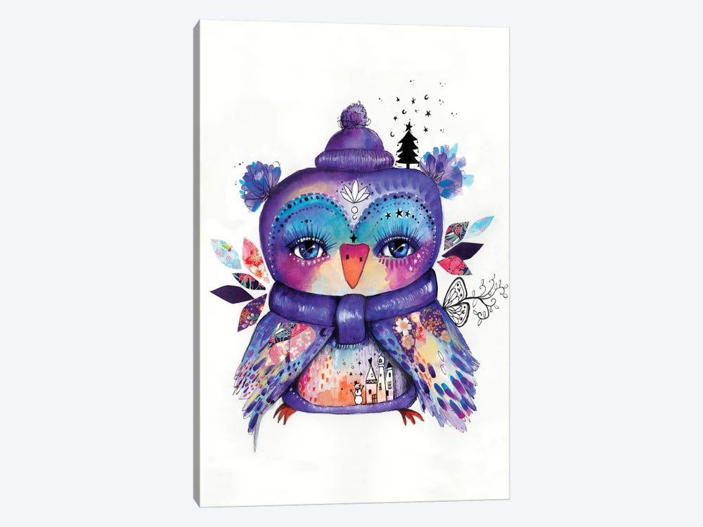 Wonderland Quirky Bird by Tamara Laporte 1-piece Canvas Art