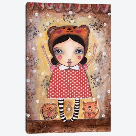 Yay Canvas Print #LPR242} by Tamara Laporte Canvas Art