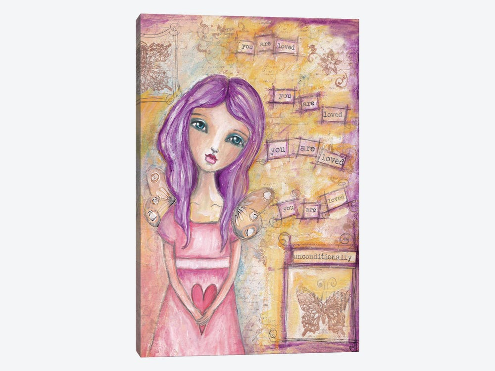 You Are Loved by Tamara Laporte 1-piece Canvas Print