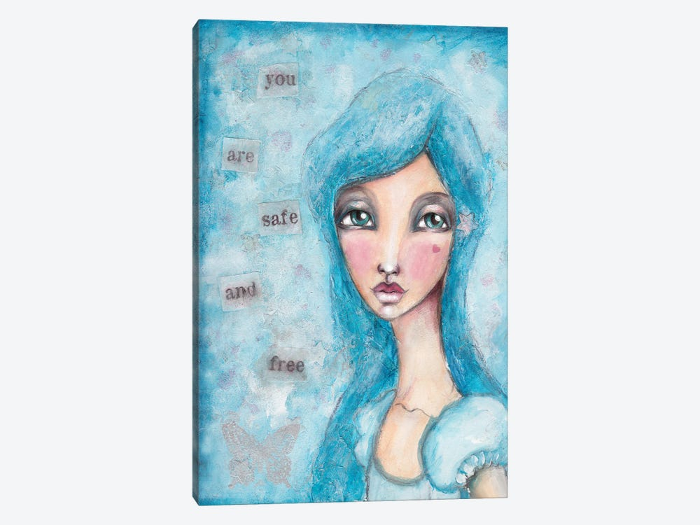 You Are Safe by Tamara Laporte 1-piece Canvas Art Print