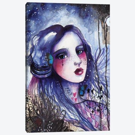 You Are The Light Canvas Print #LPR247} by Tamara Laporte Art Print