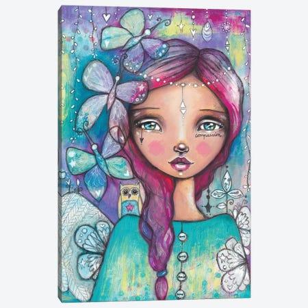 You Have Wings Canvas Print #LPR250} by Tamara Laporte Canvas Art Print