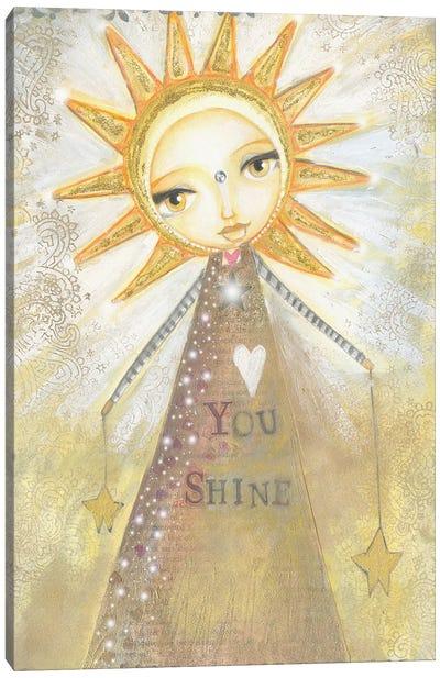 You Shine Canvas Art Print