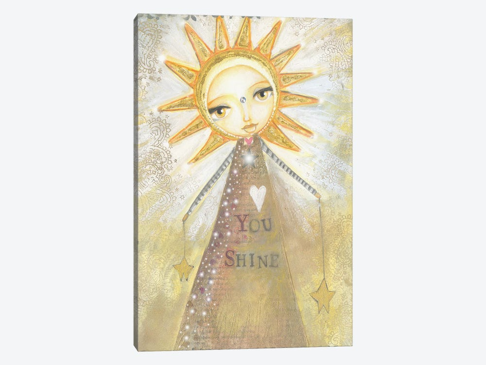 You Shine by Tamara Laporte 1-piece Canvas Artwork