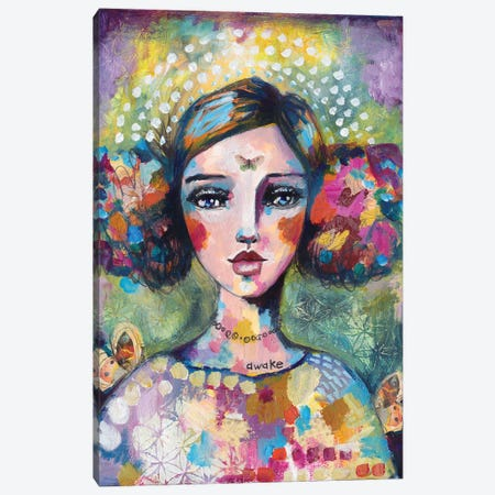 Awake Your Soul Canvas Print #LPR25} by Tamara Laporte Canvas Artwork