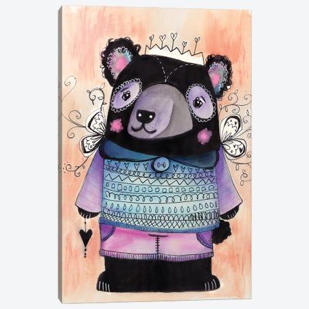 Beary Lovely Canvas Print #LPR28} by Tamara Laporte Canvas Art Print
