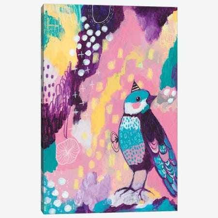 Abstract Bird I Canvas Print #LPR2} by Tamara Laporte Canvas Art