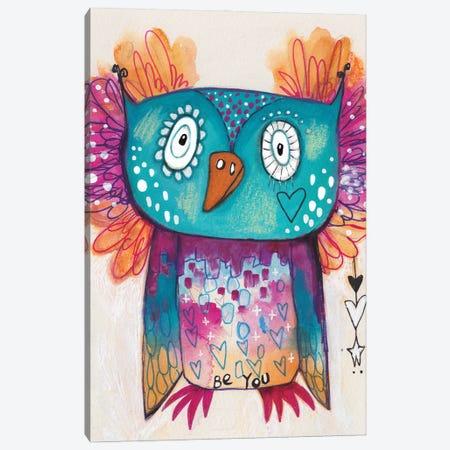Be You Qb Canvas Print #LPR34} by Tamara Laporte Canvas Art Print