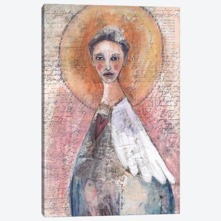 Birdhguhl Canvas Print #LPR35} by Tamara Laporte Canvas Art Print