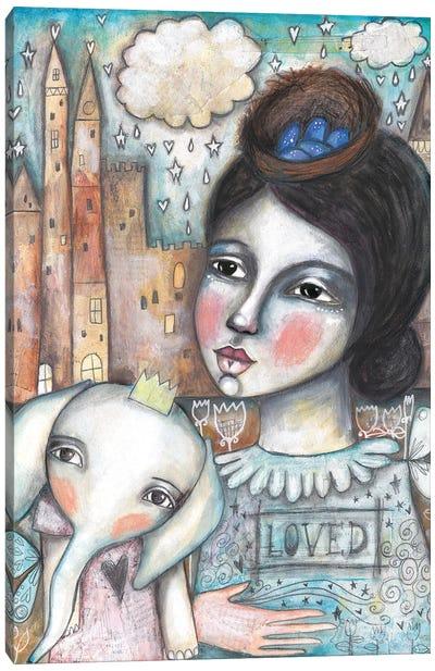 Bird'S Nest Canvas Art Print