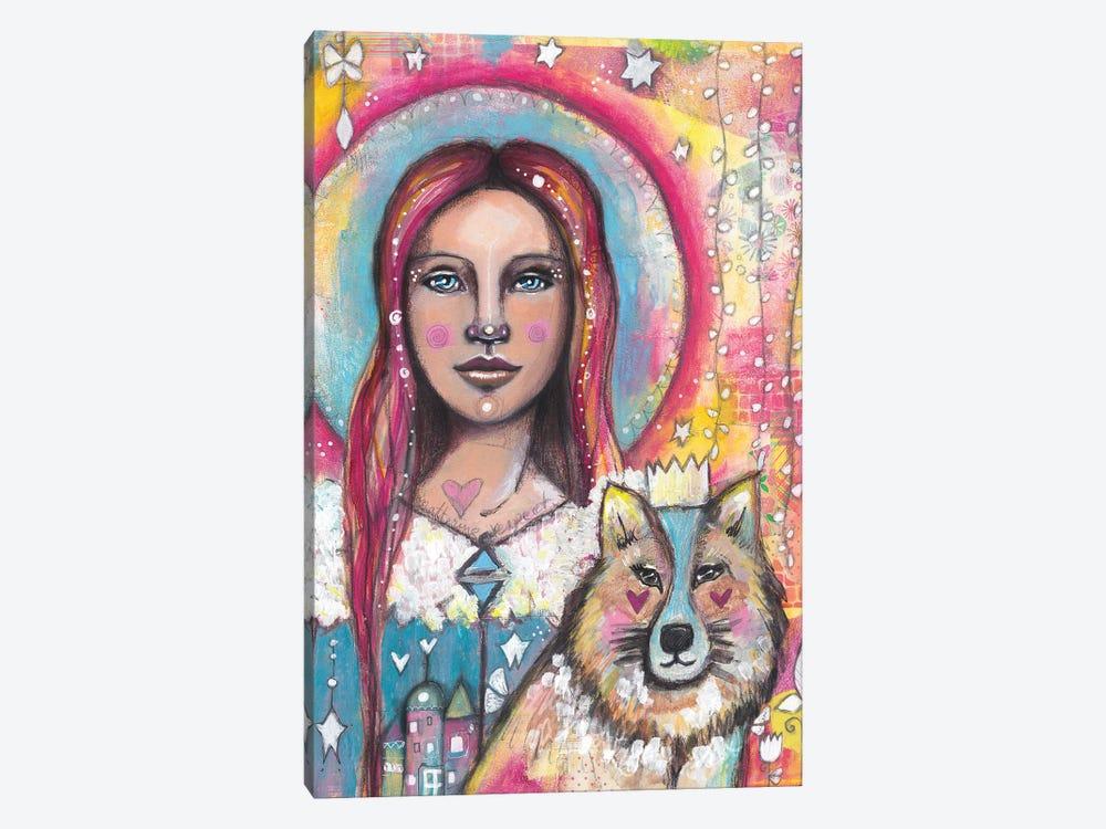 Bright Eyes by Tamara Laporte 1-piece Canvas Print