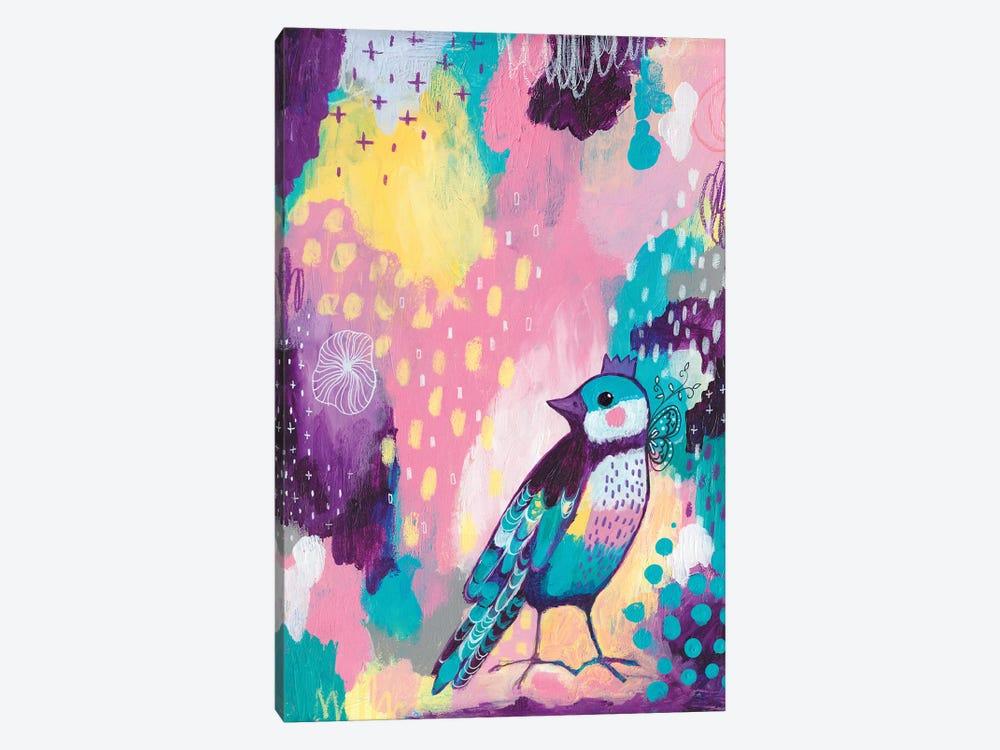 Abstract Bird II by Tamara Laporte 1-piece Canvas Artwork