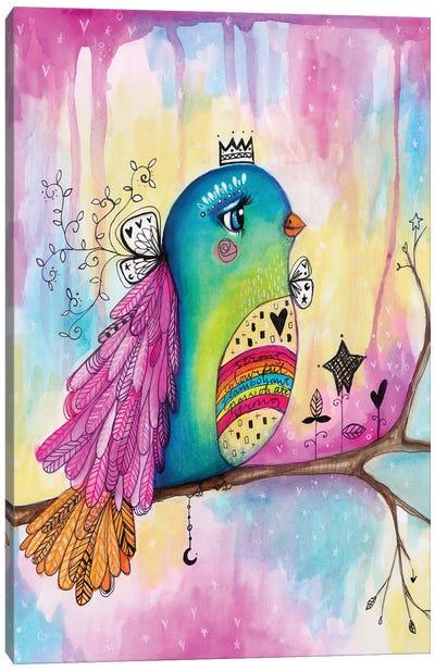 Celebration Bird Canvas Art Print