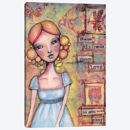 Choose Love Canvas Print #LPR46} by Tamara Laporte Canvas Art