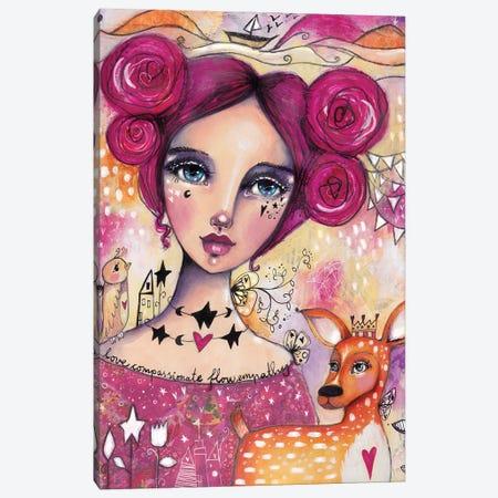 Compassionate Flow Canvas Print #LPR50} by Tamara Laporte Canvas Wall Art