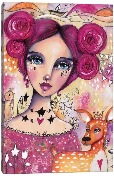 Compassionate Flow Canvas Art Print