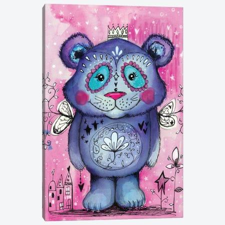 Cute Bear Canvas Print #LPR53} by Tamara Laporte Canvas Artwork