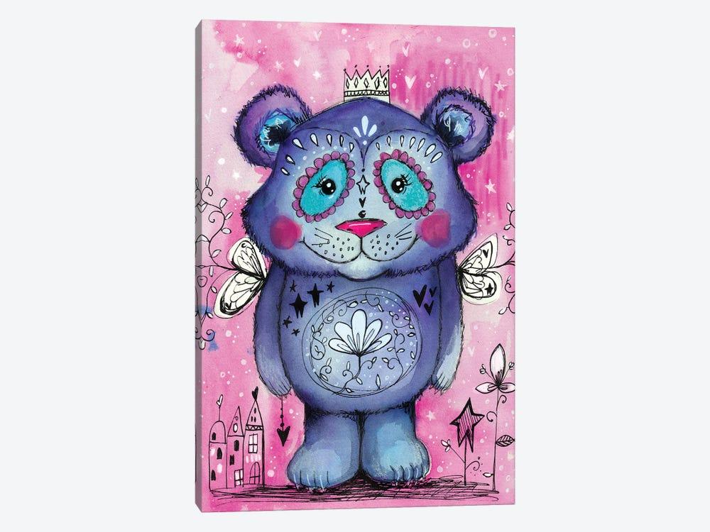 Cute Bear by Tamara Laporte 1-piece Canvas Art