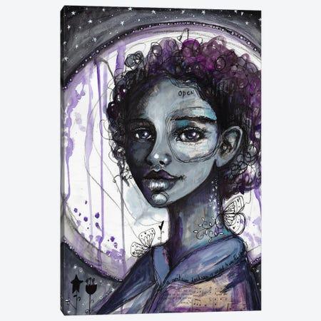 Darkness Canvas Print #LPR54} by Tamara Laporte Canvas Art Print