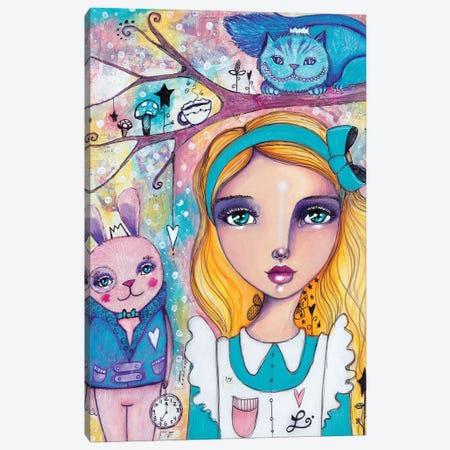 Alice In Wonderland Canvas Print #LPR5} by Tamara Laporte Canvas Art Print